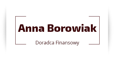 Doradca finansowy Anna Borowiak